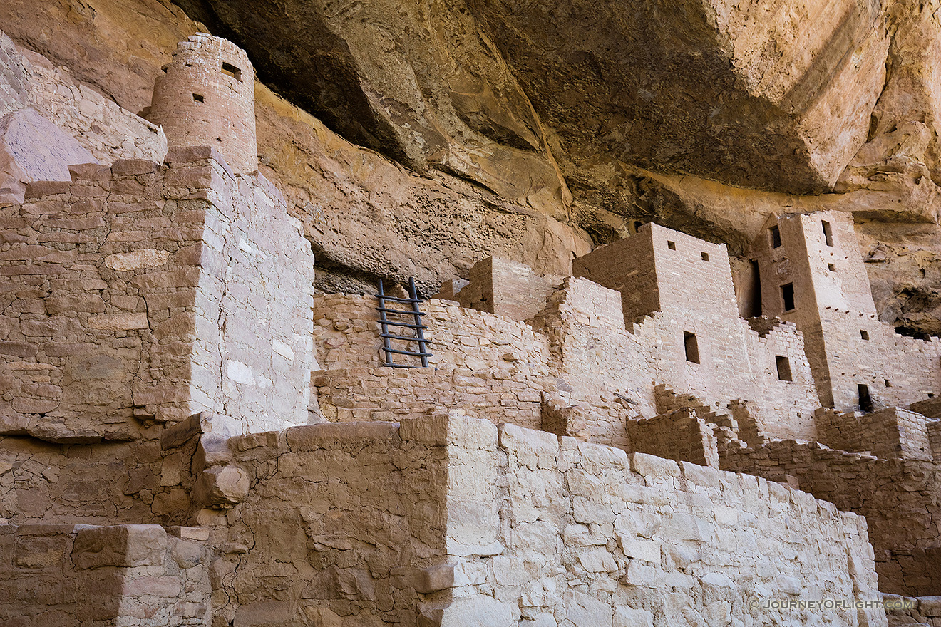 Cliff Palace at Mesa Verde National Park is a reminder of how the Native Americans lived and worked hundreds of years ago. - Colorado Picture