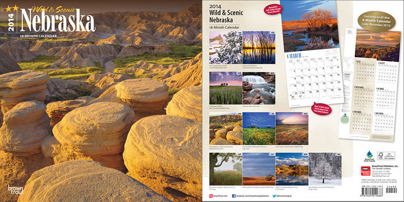 2014 Nebraska Wild and Scenic - Brown Trout Publishers.  Contributed 6 photographs. -  Picture